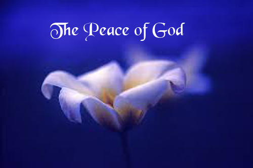 what is peace with god
